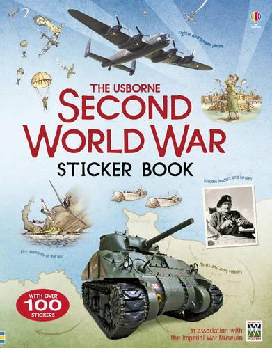 Second World War Sticker Book (Paperback)