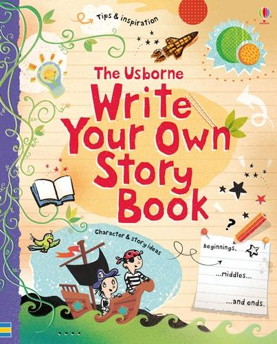 Write Your Own Story Book (Hardback)