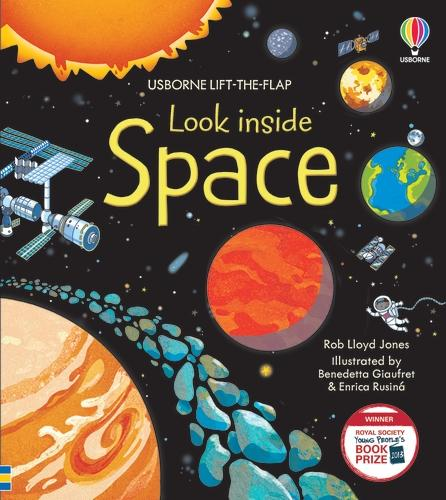 Look Inside Space - Look Inside Board Books (Hardback)