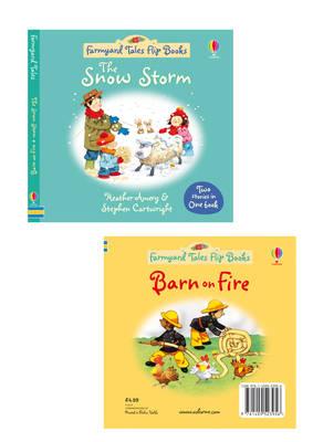 The Snow Storm/Barn on Fire - Farmyard Tales Flip Books (Hardback)