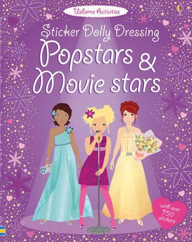 Sticker Dolly Dressing Popstars & Movie Stars - Sticker Dolly Dressing (Paperback)