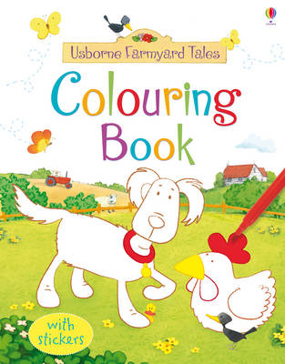 FYT Colouring Book with Stickers - Farmyard Tales (Paperback)