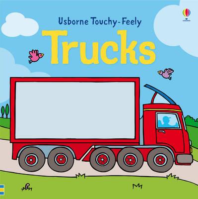 Trucks - Luxury Touchy Feely (Board book)