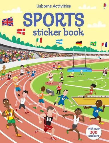 Sports Sticker Book - Sticker Books (Paperback)
