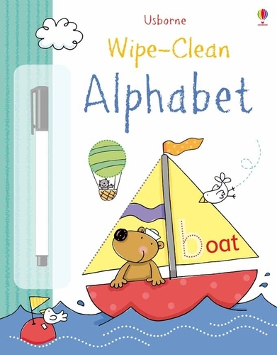 Wipe-Clean Alphabet - Wipe-clean Books (Hardback)