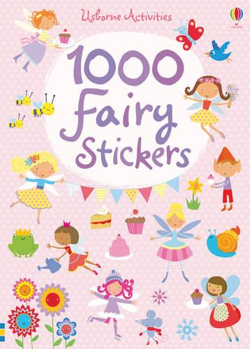 1000 Fairy Stickers - 1000 Stickers (Paperback)
