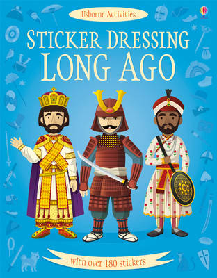 Sticker Dressing Long Ago
