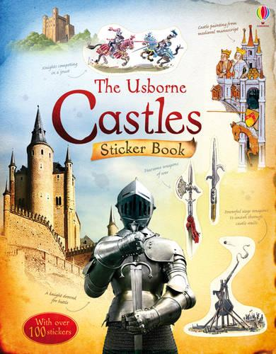 Castles Sticker Book - Information Sticker Books (Paperback)