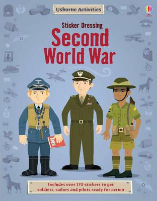 Sticker Dressing: Second World War - Sticker Dressing (Paperback)