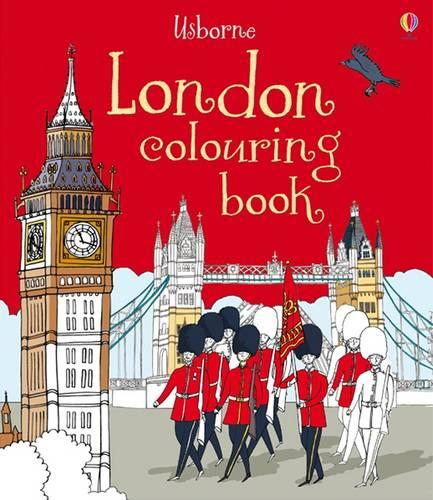 London Colouring Book - Colouring Books (Paperback)