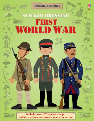 Sticker Dressing First World War - Sticker Dressing (Paperback)