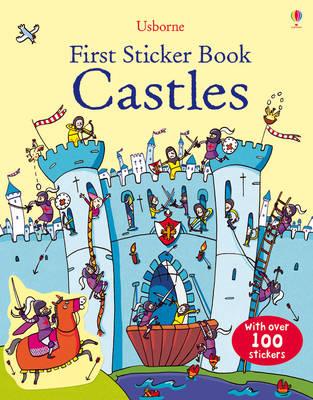 First Sticker Book Castles - First Sticker Books (Paperback)