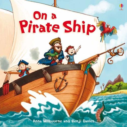On a Pirate Ship - Picture Books (Paperback)