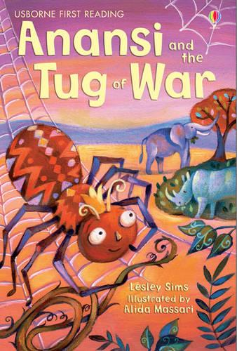 Anansi and the Tug of War - 2.1 First Reading Level One (Yellow) (Hardback)