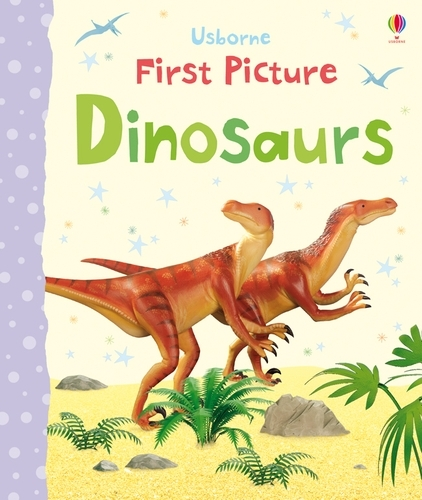 First Picture Dinosaurs - First Picture Books (Board book)