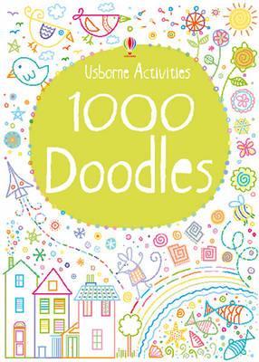 1000 Doodles - Activity Pads (Paperback)