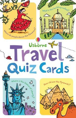 Travel Quiz Cards - Activity and Puzzle Cards