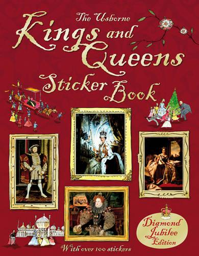 Kings and Queens Sticker Book - Sticker Information Books (Paperback)