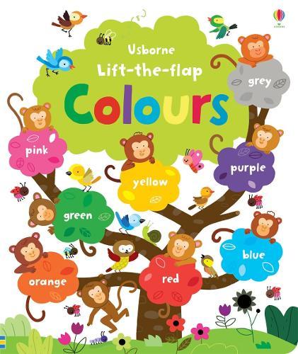 Lift the Flap Colours Book - Lift the Flap (Hardback)