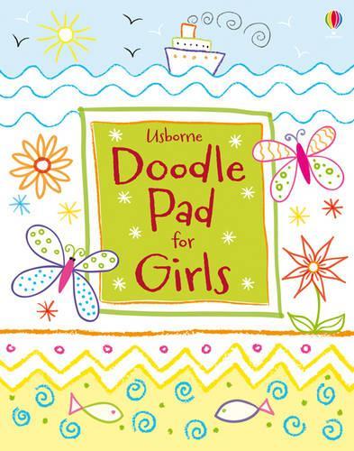 Usborne Doodle Pad for Girls - Tear-off Pads (Paperback)