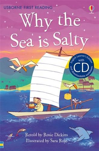 Why the Sea is Salty [Book with CD] - First Reading Series 4 (CD-Audio)