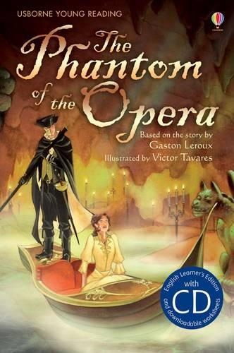The Phantom of the Opera [Book with CD] - Young Reading Series 2 (CD-Audio)