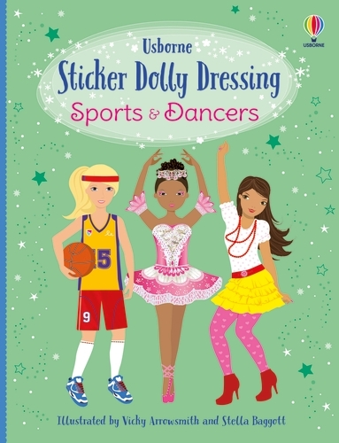 Sticker Dolly Dressing: Sports Girls and Dancers (bind up) - Sticker Dolly Dressing (Paperback)