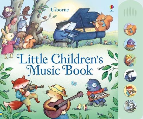 Little Children's Music Book - Musical Books (Board book)