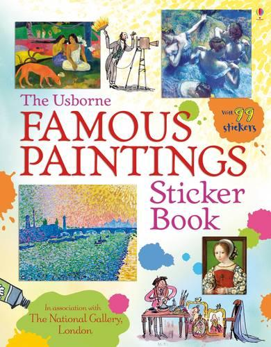 Famous Paintings Sticker Book - Information Sticker Books (Paperback)