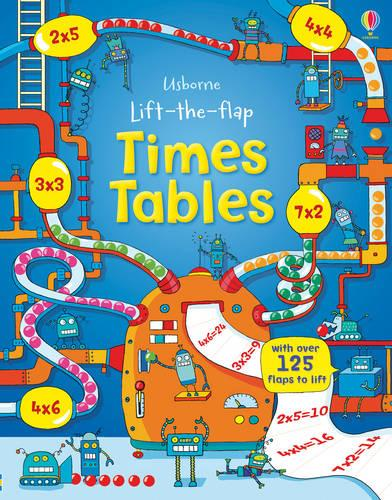Lift the Flap Times Tables Book - Lift the Flap (Hardback)