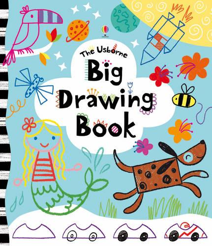 Big Drawing Book - Usborne Drawing, Doodling and Colouring (Paperback)