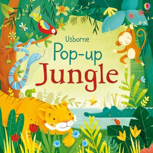 Pop-up Jungle - Pop-Ups (Board book)