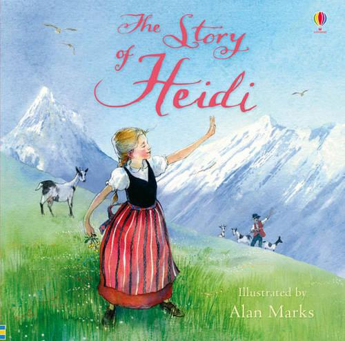 The Story of Heidi - Picture Books (Paperback)