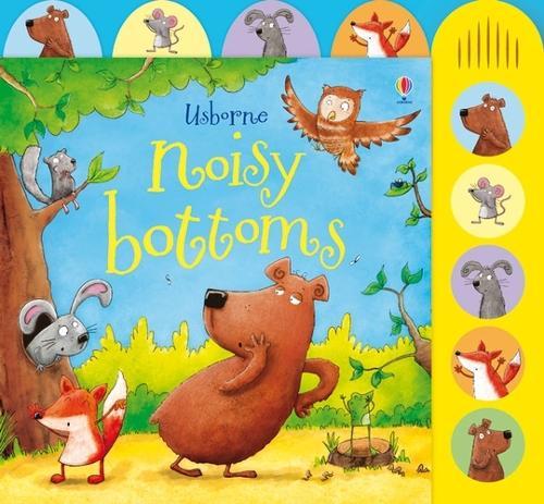 Noisy Bottoms - Noisy Books (Board book)