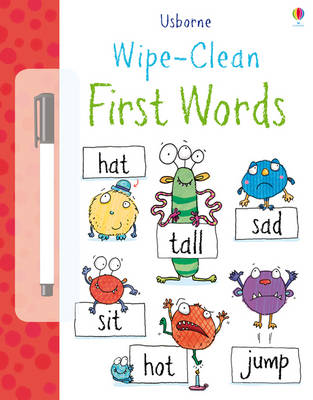 Wipe Clean: First Words - Wipe-clean Books (Paperback)