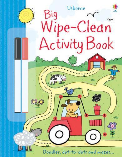 Big Wipe Clean Activity Book - Wipe-clean Books (Paperback)