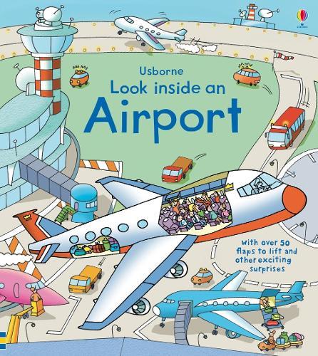 Look Inside an Airport - Look Inside Board Books (Hardback)
