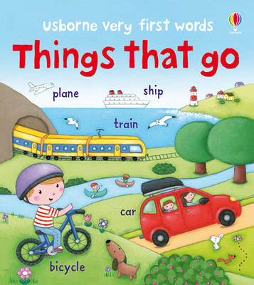 Things That Go - Very First Words (Board book)