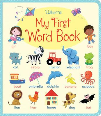 My First Word book - Very First Words (Board book)