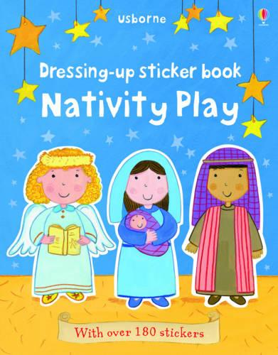 Dressing-Up Sticker Book Nativity Play (Paperback)