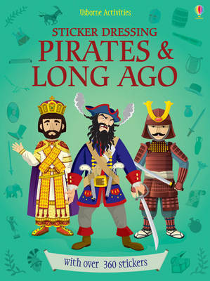 Sticker Dressing Pirates and Long Ago - Sticker Dressing (Paperback)