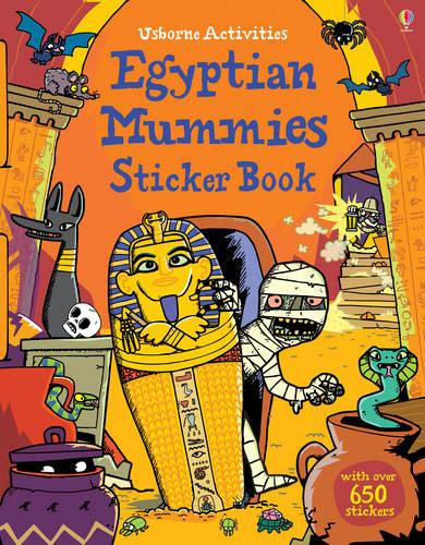 Egyptian Mummies Sticker Book - Sticker Books (Paperback)