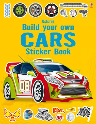Build Your Own Car Sticker Book - Build Your Own Sticker Book (Paperback)