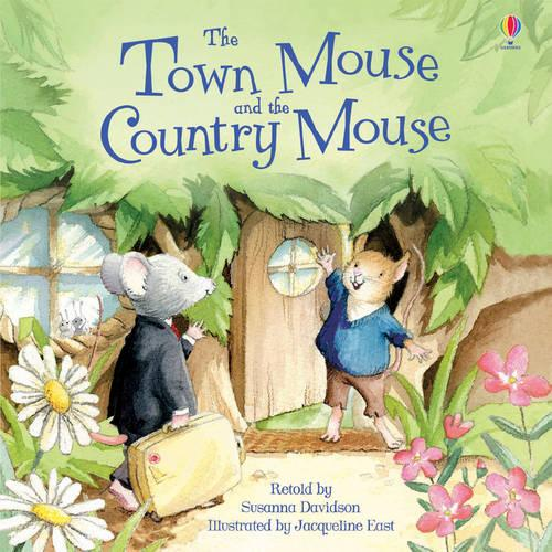 The Town Mouse & the Country Mouse - Picture Books (Paperback)