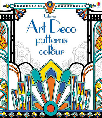 Art Deco Patterns to Colour - Colouring Books (Paperback)