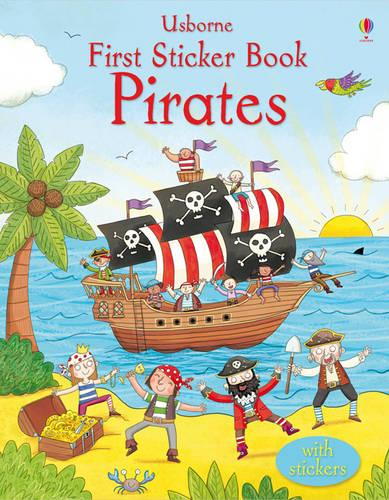 First Sticker Book Pirates - First Sticker Books (Paperback)