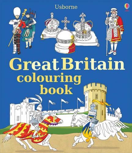 Great Britain Colouring Book - Colouring Books (Paperback)