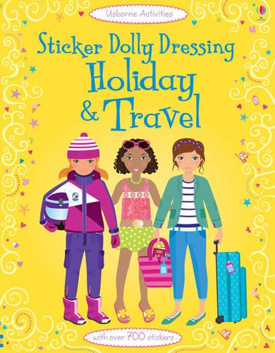 Sticker Dolly Dressing: Holiday and Travel - Sticker Dolly Dressing (Paperback)