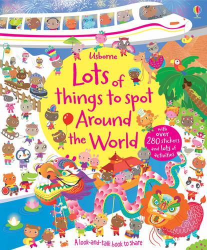 Lots of Things to Spot Around the World - Young Searches (Paperback)