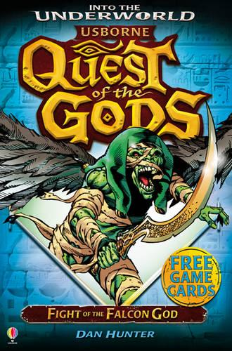 Fight of the Falcon God - Quest of the Gods 06 (Paperback)